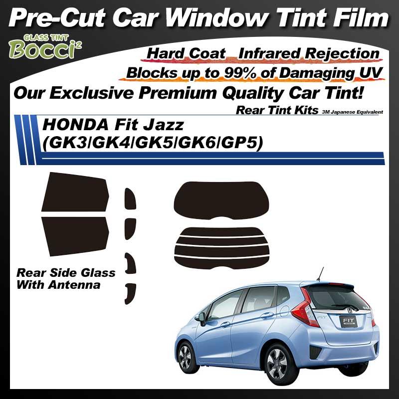 HONDA Fit Jazz (GK3/GK4/GK5/GK6/GP5) Pre-Cut Car Tint Film UV IR 3M Japanese Equivalent