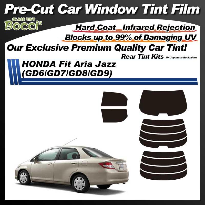 HONDA Fit Aria Jazz (GD6/GD7/GD8/GD9) Pre-Cut Car Tint Film UV IR 3M Japanese Equivalent