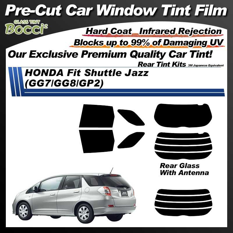 HONDA Fit Shuttle Jazz (GG7/GG8/GP2) Pre-Cut Car Tint Film UV IR 3M Japanese Equivalent