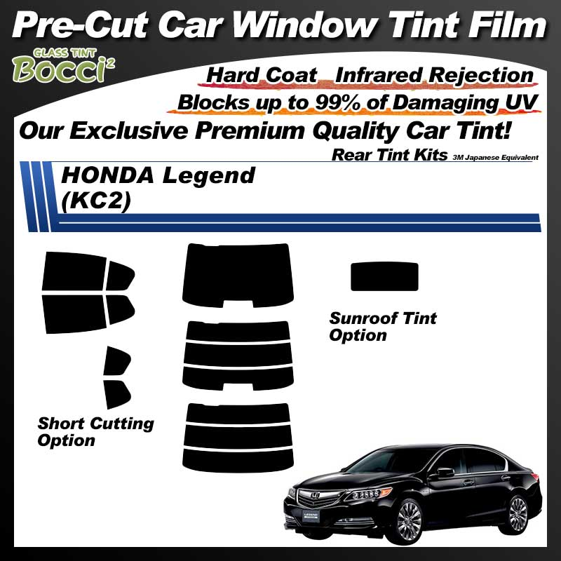 HONDA Legend (KC2) With Sunroof Pre-Cut Car Tint Film UV IR 3M Japanese Equivalent