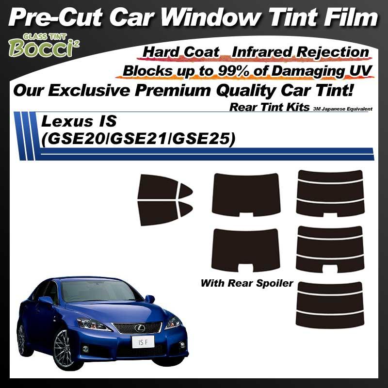 Lexus IS (GSE20/GSE21/GSE25) Pre-Cut Car Tint Film UV IR 3M Japanese Equivalent