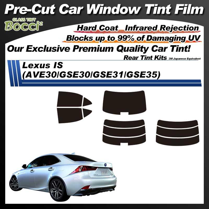 Lexus IS (AVE30/GSE30/GSE31/GSE35) Pre-Cut Car Tint Film UV IR 3M Japanese Equivalent