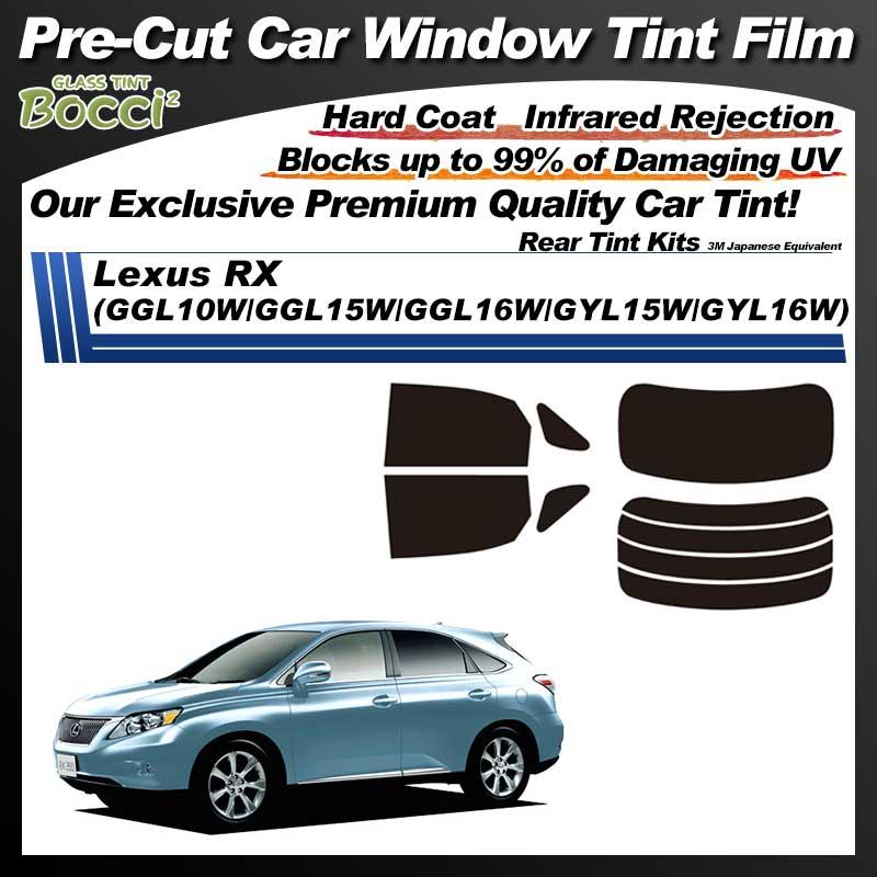 Lexus RX (GGL10W/GGL15W/GGL16W/GYL15W/GYL16W) Pre-Cut Car Tint Film UV IR 3M Japanese Equivalent