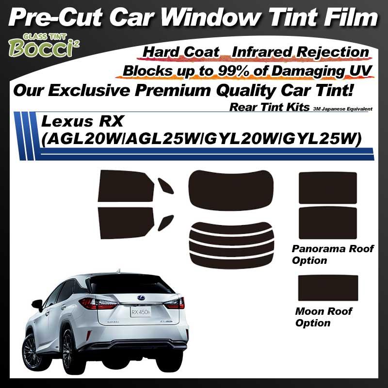 Lexus RX (AGL20W/AGL25W/GYL20W/GYL25W) With Sunroof Pre-Cut Car Tint Film UV IR 3M Japanese Equivalent