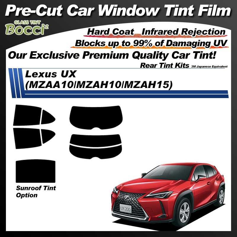 Lexus UX (MZAA10/MZAH10/MZAH15) Pre-Cut Car Tint Film UV IR 3M Japanese Equivalent