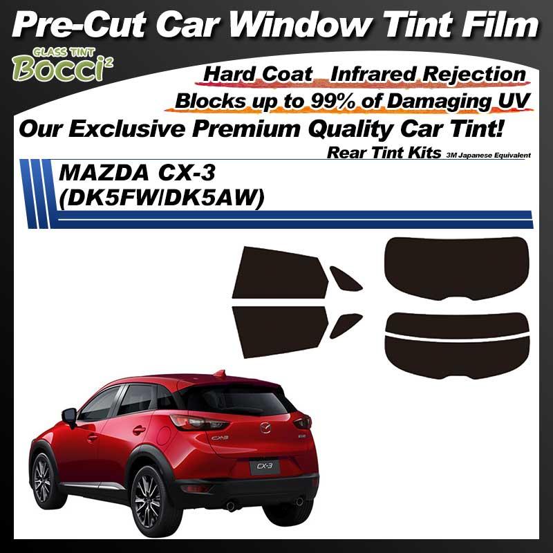 MAZDA CX-3 (DK5FW/DK5AW) Pre-Cut Car Tint Film UV IR 3M Japanese Equivalent