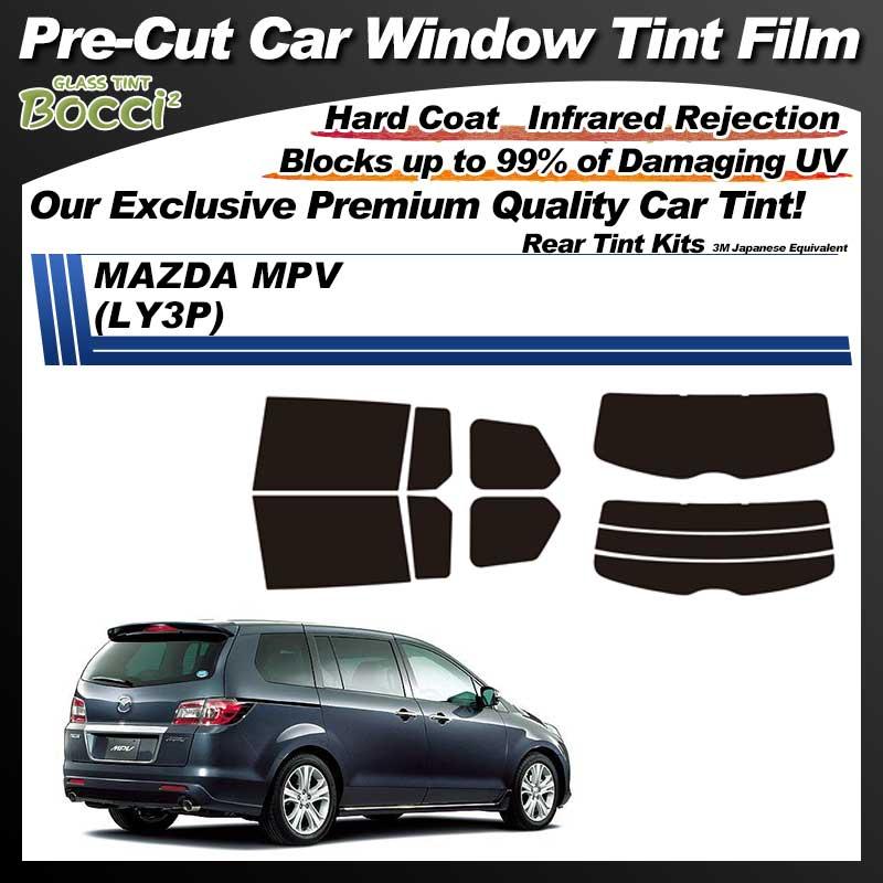 MAZDA MPV (LY3P) Pre-Cut Car Tint Film UV IR 3M Japanese Equivalent
