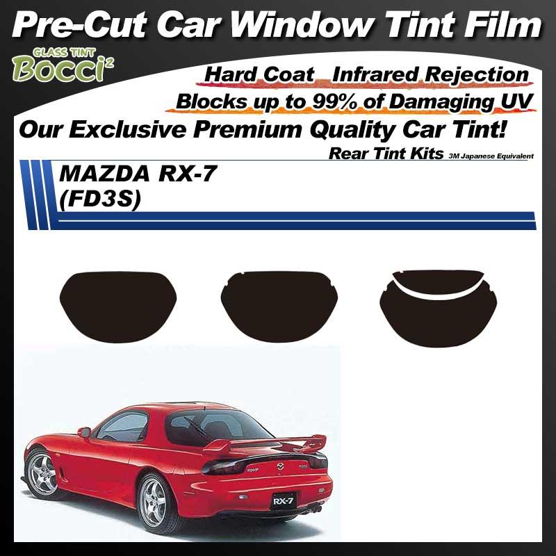 MAZDA RX-7 (FD3S) Pre-Cut Car Tint Film UV IR 3M Japanese Equivalent
