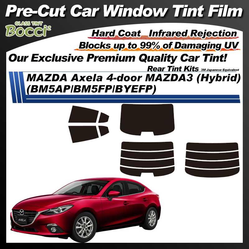 MAZDA Axela 4-door MAZDA3 (Hybrid) (BM5AP/BM5FP/BYEFP) Pre-Cut Car Tint Film UV IR 3M Japanese Equivalent
