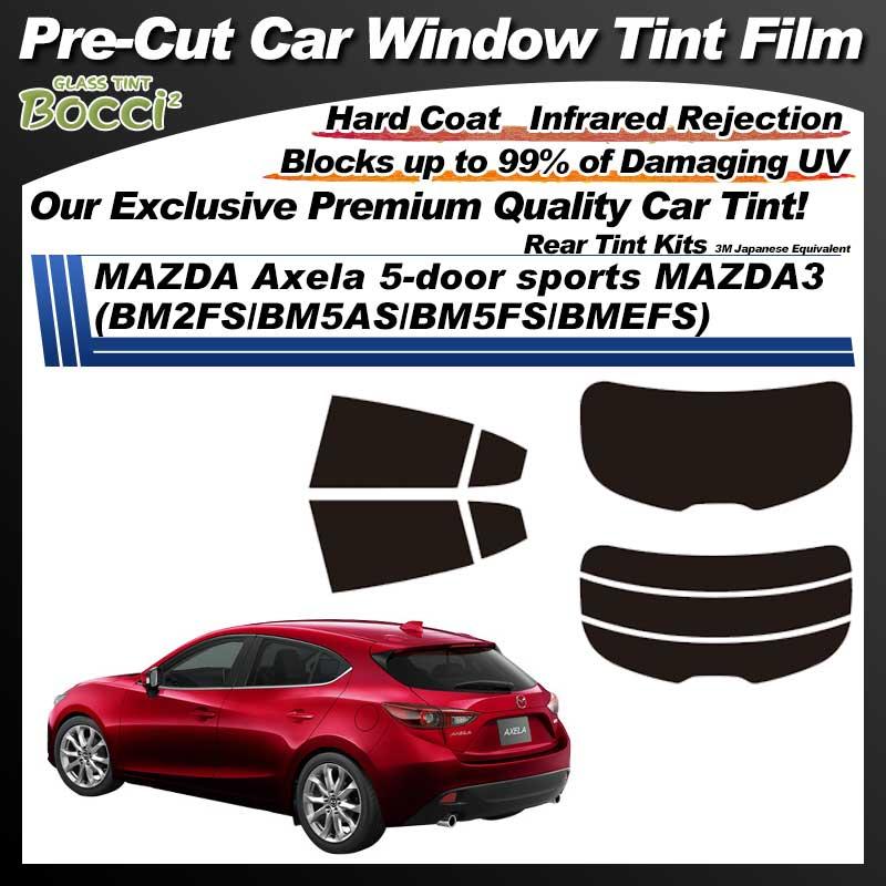 MAZDA Axela 5-door sports MAZDA3 (BM2FS/BM5AS/BM5FS/BMEFS) Pre-Cut Car Tint Film UV IR 3M Japanese Equivalent