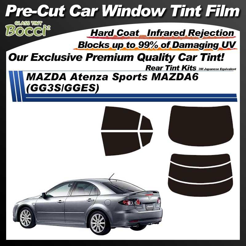 MAZDA Atenza Sports MAZDA6 (GG3S/GGES) Pre-Cut Car Tint Film UV IR 3M Japanese Equivalent