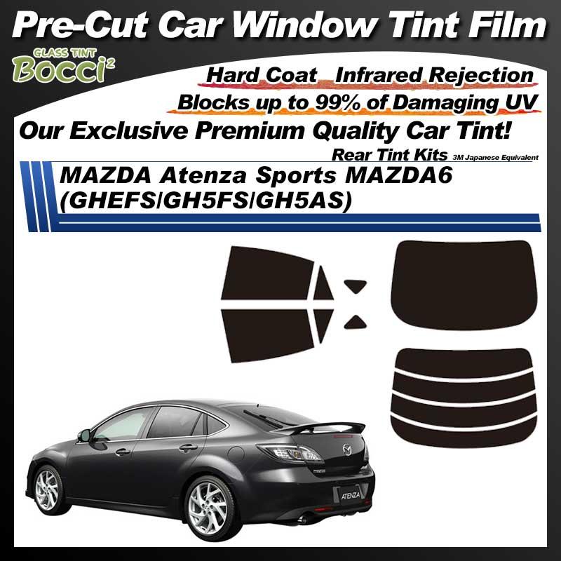 MAZDA Atenza Sports MAZDA6 (GHEFS/GH5FS/GH5AS) Pre-Cut Car Tint Film UV IR 3M Japanese Equivalent