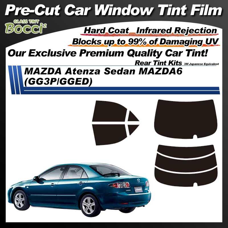 MAZDA Atenza Sedan MAZDA6 (GG3P/GGED) Pre-Cut Car Tint Film UV IR 3M Japanese Equivalent