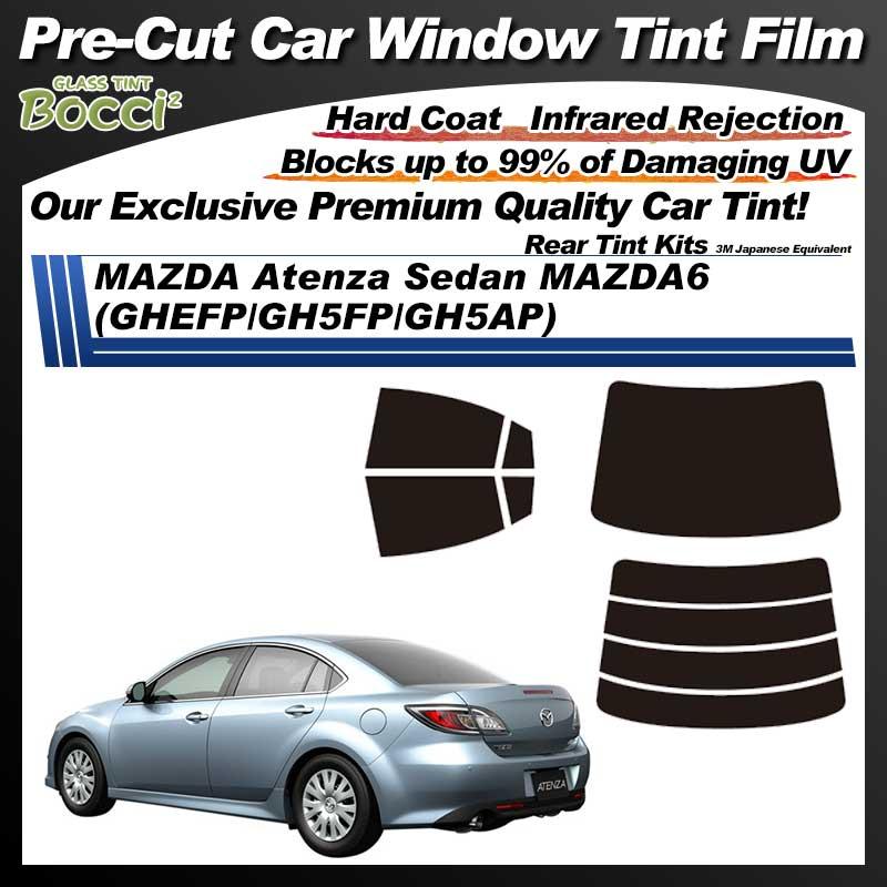 MAZDA Atenza Sedan MAZDA6 (GHEFP/GH5FP/GH5AP) Pre-Cut Car Tint Film UV IR 3M Japanese Equivalent