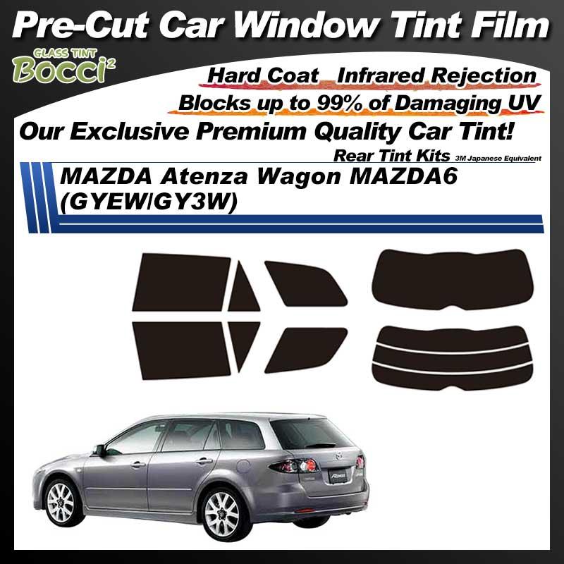 MAZDA Atenza Wagon MAZDA6 (GYEW/GY3W) Pre-Cut Car Tint Film UV IR 3M Japanese Equivalent