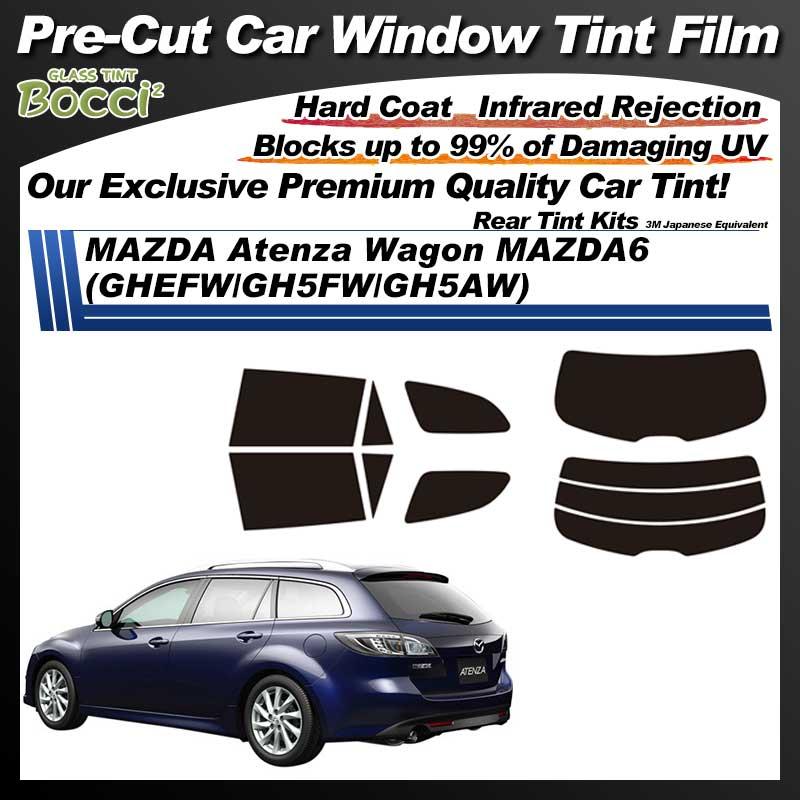 MAZDA Atenza Wagon MAZDA6 (GHEFW/GH5FW/GH5AW) Pre-Cut Car Tint Film UV IR 3M Japanese Equivalent