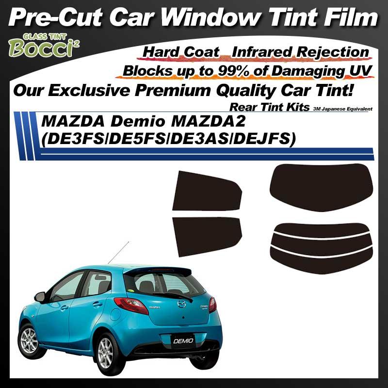 MAZDA Demio MAZDA2 (DE3FS/DE5FS/DE3AS/DEJFS) Pre-Cut Car Tint Film UV IR 3M Japanese Equivalent