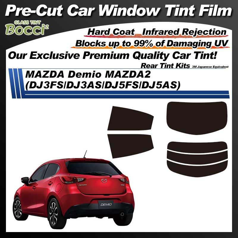 MAZDA Demio MAZDA2 (DJ3FS/DJ3AS/DJ5FS/DJ5AS) Pre-Cut Car Tint Film UV IR 3M Japanese Equivalent