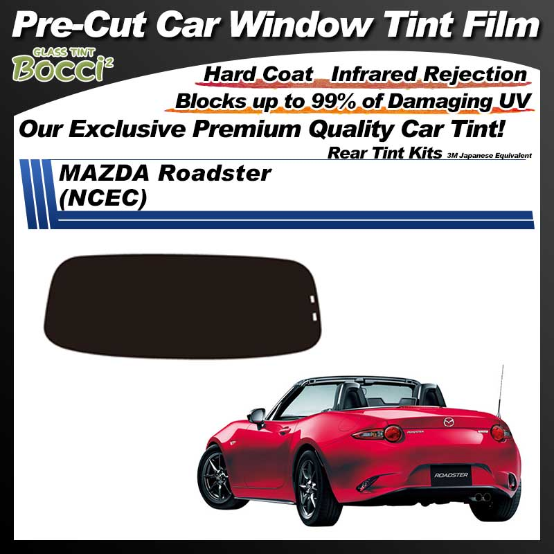 MAZDA Roadster (ND5RC) Pre-Cut Car Tint Film UV IR 3M Japanese Equivalent