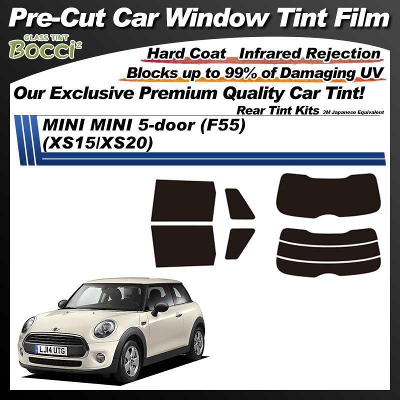 MINI MINI 5-door (F55) (XS15/XS20) Pre-Cut Car Tint Film UV IR 3M Japanese Equivalent