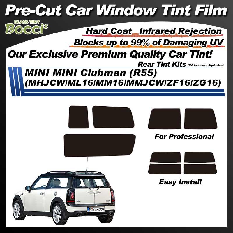 MINI MINI Clubman (R55) (MHJCW/ML16/MM16/MMJCW/ZF16/ZG16) Pre-Cut Car Tint Film UV IR 3M Japanese Equivalent