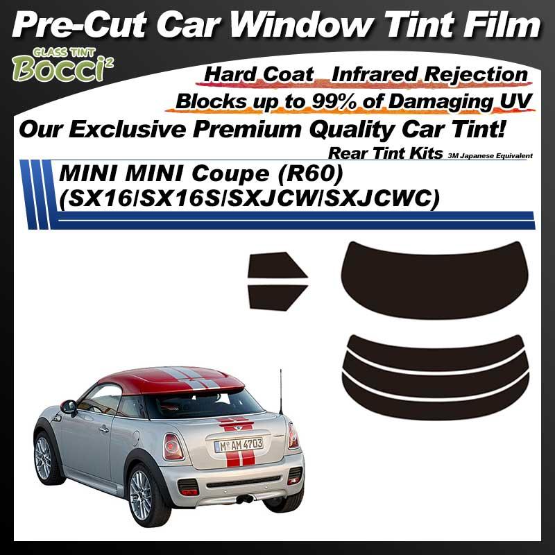 MINI MINI Coupe (R60) (SX16/SX16S/SXJCW/SXJCWC) Pre-Cut Car Tint Film UV IR 3M Japanese Equivalent