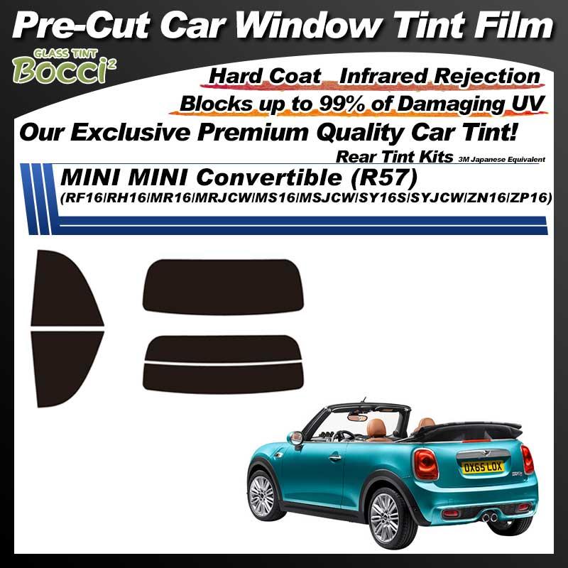 MINI MINI Convertible (R57) (RF16/RH16/MR16/MRJCW/MS16/MSJCW/SY16S/SYJCW/ZN16/ZP16) Pre-Cut Car Tint Film UV IR 3M Japanese Equivalent