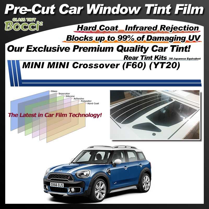 MINI MINI Crossover (F60) (YT20) Pre-Cut Car Tint Film UV IR 3M Japanese Equivalent