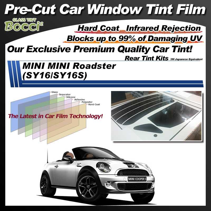 MINI MINI Roadster (SY16/SY16S) Pre-Cut Car Tint Film UV IR 3M Japanese Equivalent