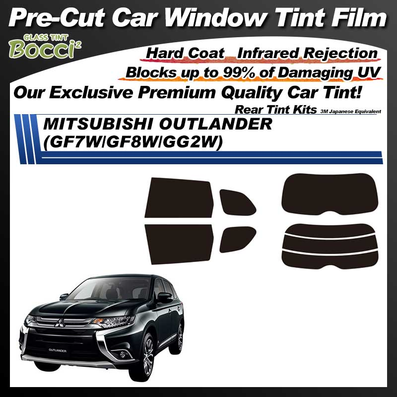 MITSUBISHI Outlander (GF7W/GF8W/GG2W) Pre-Cut Car Tint Film UV IR 3M Japanese Equivalent