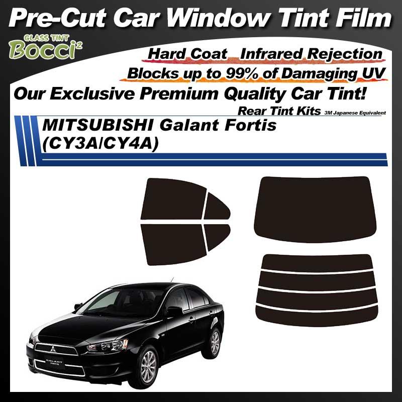 MITSUBISHI Galant Fortis (CY3A/CY4A) Pre-Cut Car Tint Film UV IR 3M Japanese Equivalent