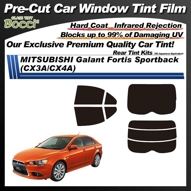 MITSUBISHI Galant Fortis Sportback (CX3A/CX4A) Pre-Cut Car Tint Film UV IR 3M Japanese Equivalent