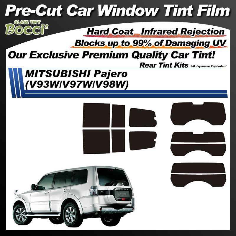 MITSUBISHI Pajero Long (V93W/V97W/V98W) Pre-Cut Car Tint Film UV IR 3M Japanese Equivalent