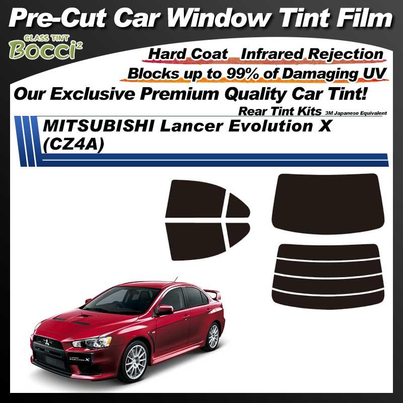 MITSUBISHI Lancer Evolution 10 (CZ4A) Pre-Cut Car Tint Film UV IR 3M Japanese Equivalent