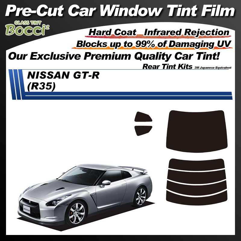 NISSAN GT-R (R35) Pre-Cut Car Tint Film UV IR 3M Japanese Equivalent