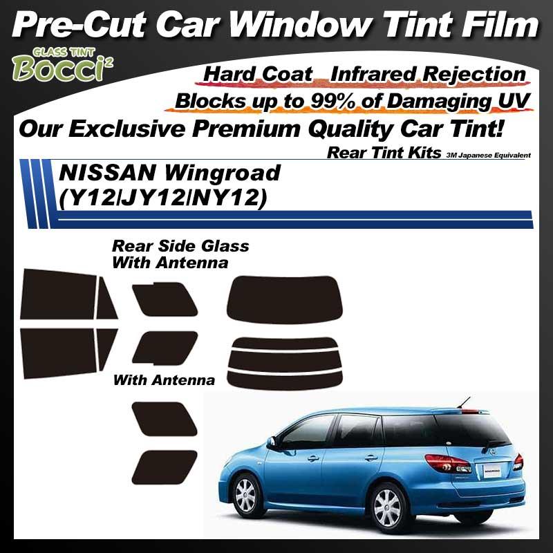 NISSAN Wingroad (Y12/JY12/NY12) Pre-Cut Car Tint Film UV IR 3M Japanese Equivalent