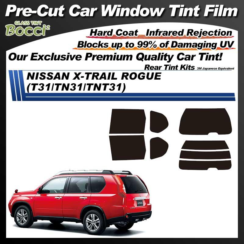 NISSAN X-TRAIL ROGUE (T31/TN31/TNT31) Pre-Cut Car Tint Film UV IR 3M Japanese Equivalent