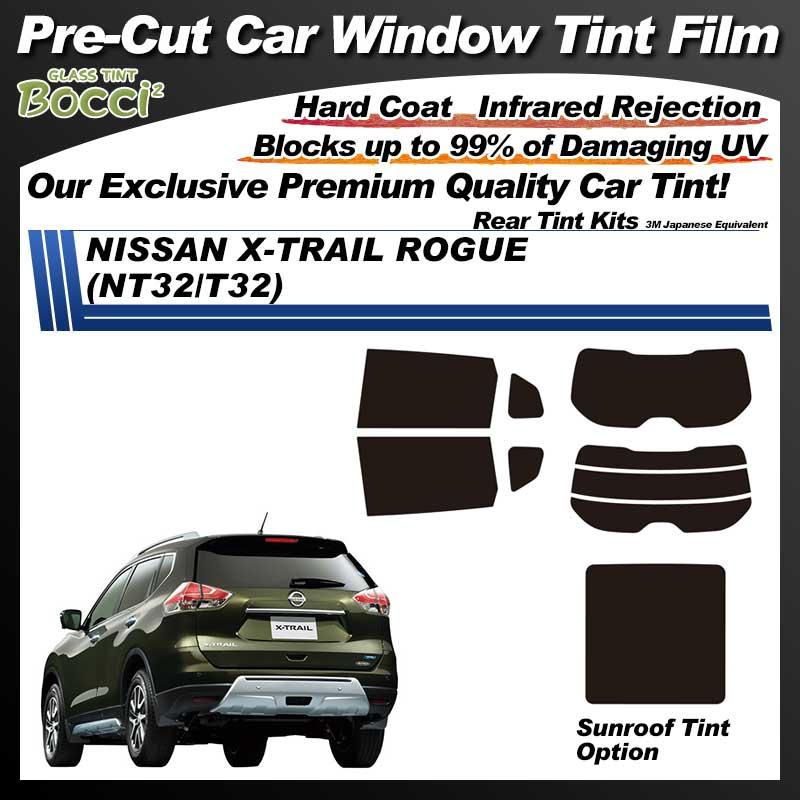 NISSAN X-TRAIL ROGUE (NT32/T32) With Sunroof Pre-Cut Car Tint Film UV IR 3M Japanese Equivalent