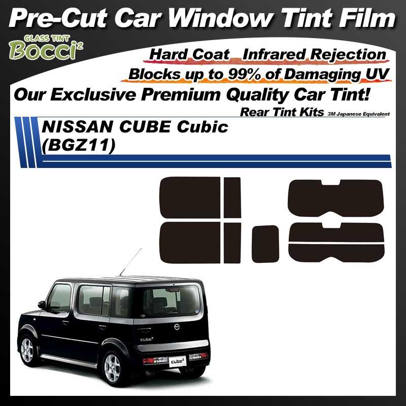 NISSAN Cube Cubic (BGZ11) Pre-Cut Car Tint Film UV IR 3M Japanese Equivalent