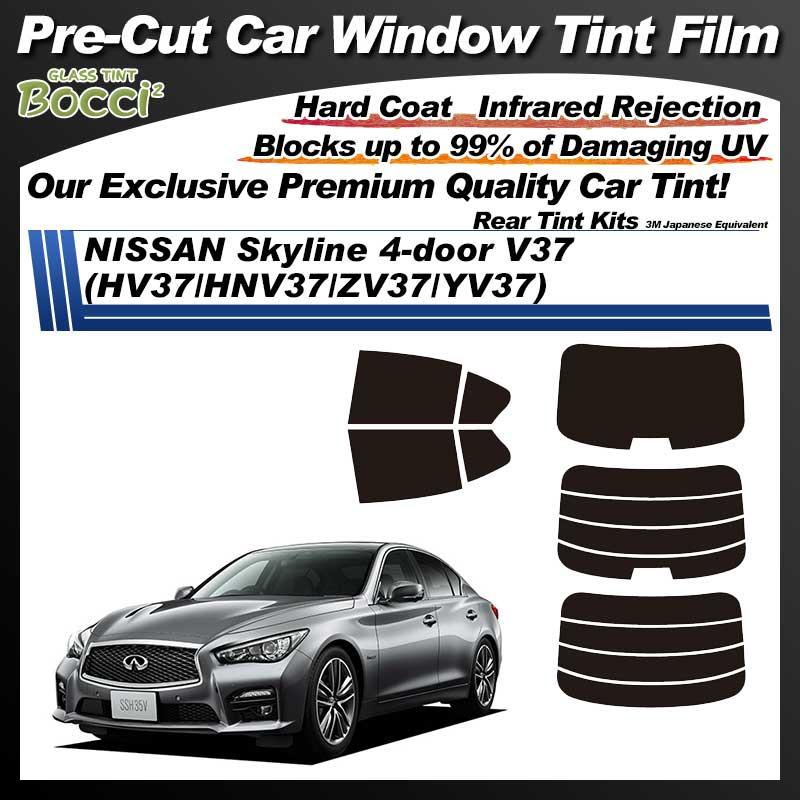 NISSAN Skyline 4-doors V37 (HV37/HNV37/ZV37/YV37) Pre-Cut Car Tint Film UV IR 3M Japanese Equivalent
