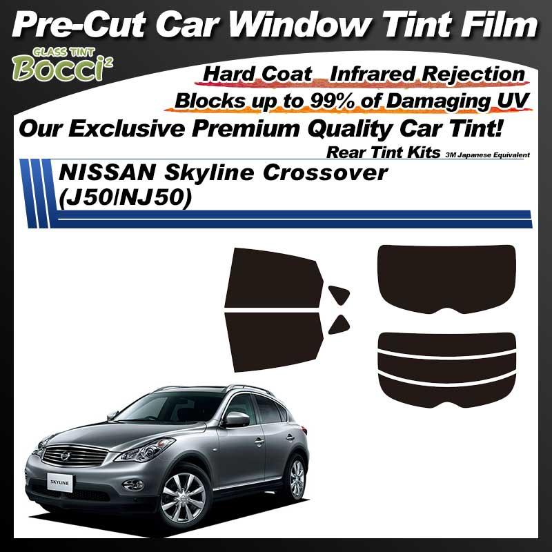 NISSAN Skyline Crossover (J50/NJ50) Pre-Cut Car Tint Film UV IR 3M Japanese Equivalent