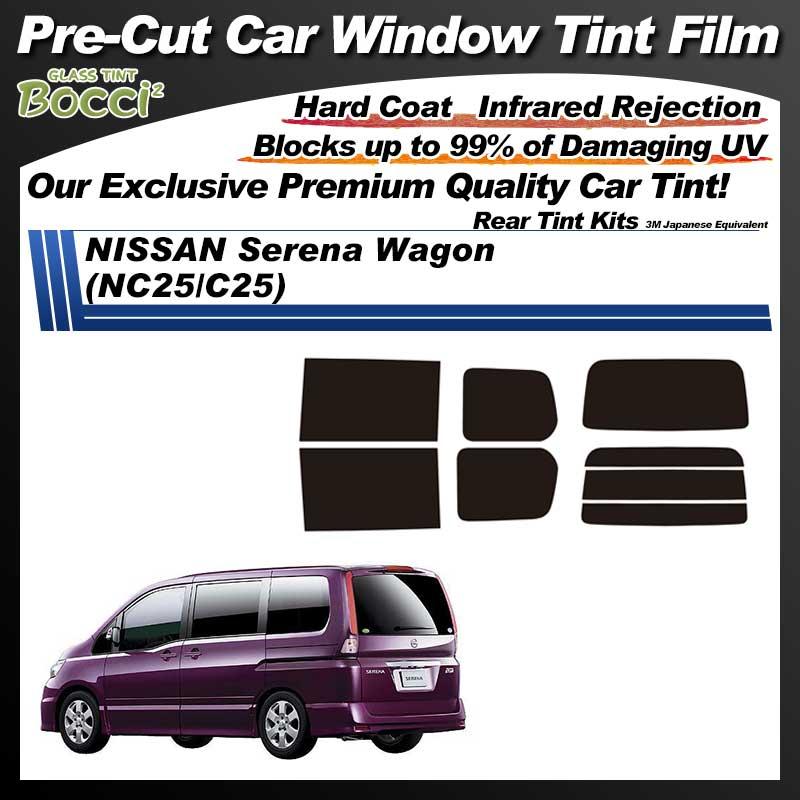 NISSAN Serena Wagon (NC25/C25) Pre-Cut Car Tint Film UV IR 3M Japanese Equivalent