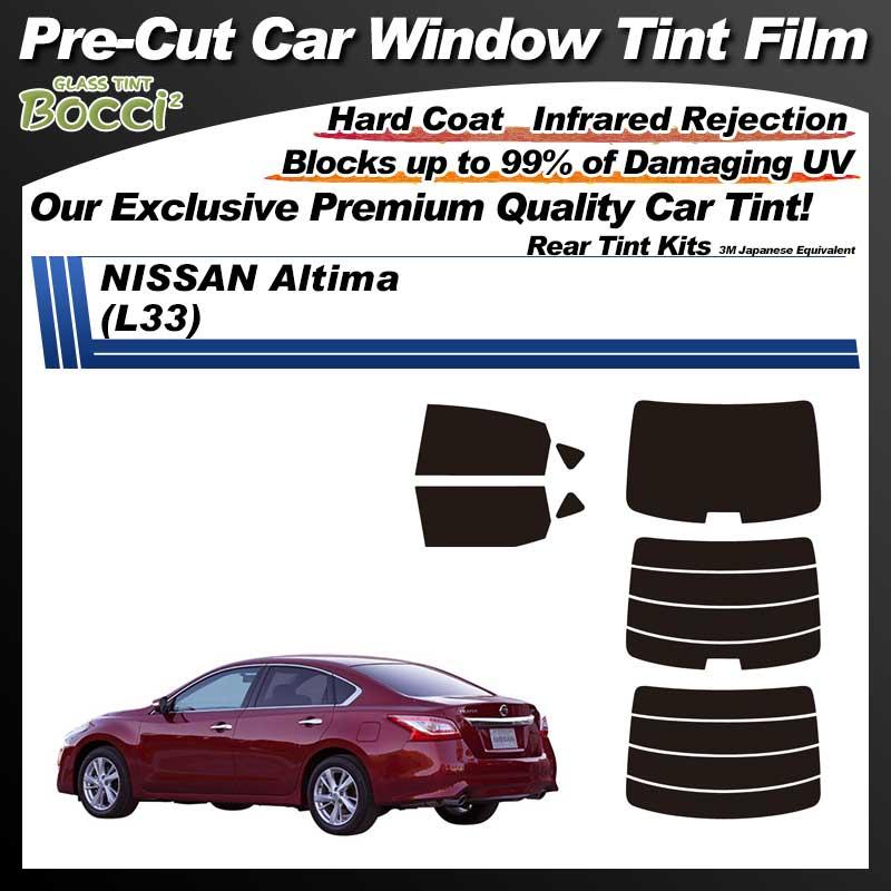 NISSAN Altima (L33) Pre-Cut Car Tint Film UV IR 3M Japanese Equivalent
