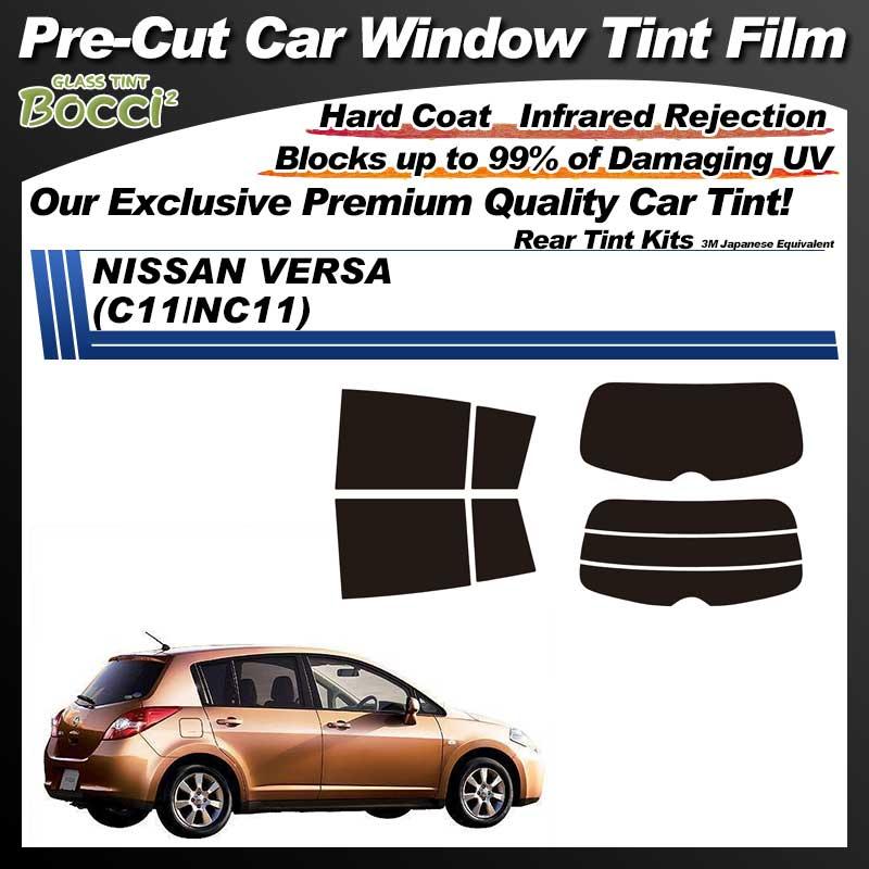 NISSAN VERSA (C11/NC11) Pre-Cut Car Tint Film UV IR 3M Japanese Equivalent