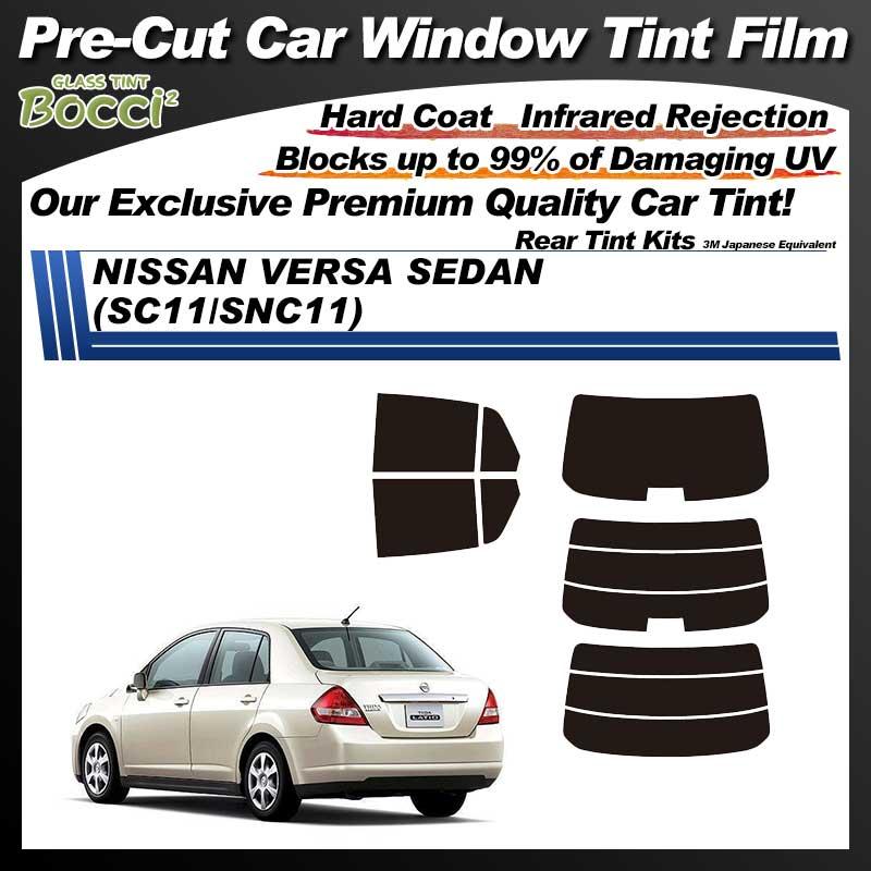 NISSAN VERSA Sedan (SC11/SNC11) Pre-Cut Car Tint Film UV IR 3M Japanese Equivalent