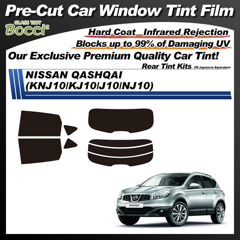 NISSAN QASHQAI (KNJ10/KJ10/J10/NJ10) Pre-Cut Car Tint Film UV IR 3M Japanese Equivalent