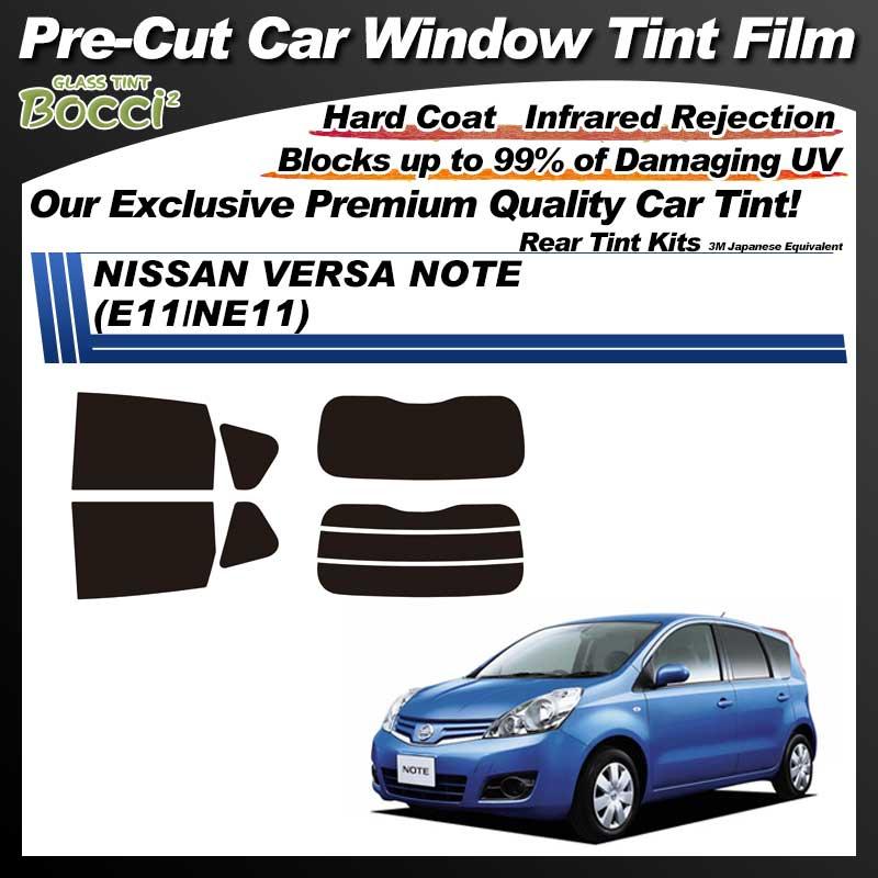 NISSAN VERSA Note (E11/NE11) Pre-Cut Car Tint Film UV IR 3M Japanese Equivalent
