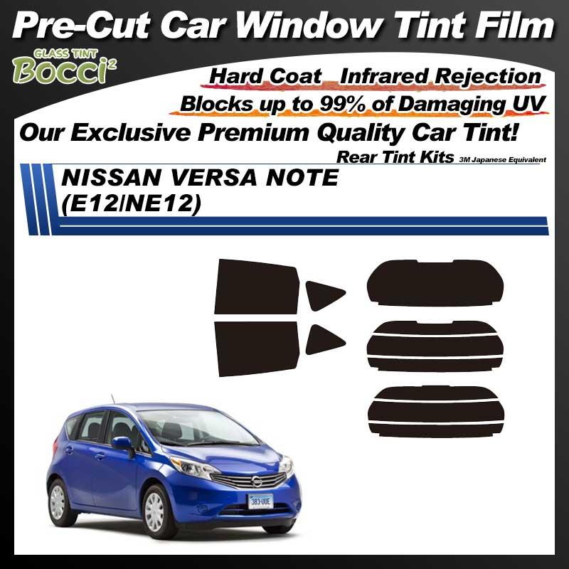 NISSAN VERSA Note (E12/NE12/SNE12/E12 break/HE12) Pre-Cut Car Tint Film UV IR 3M Japanese Equivalent