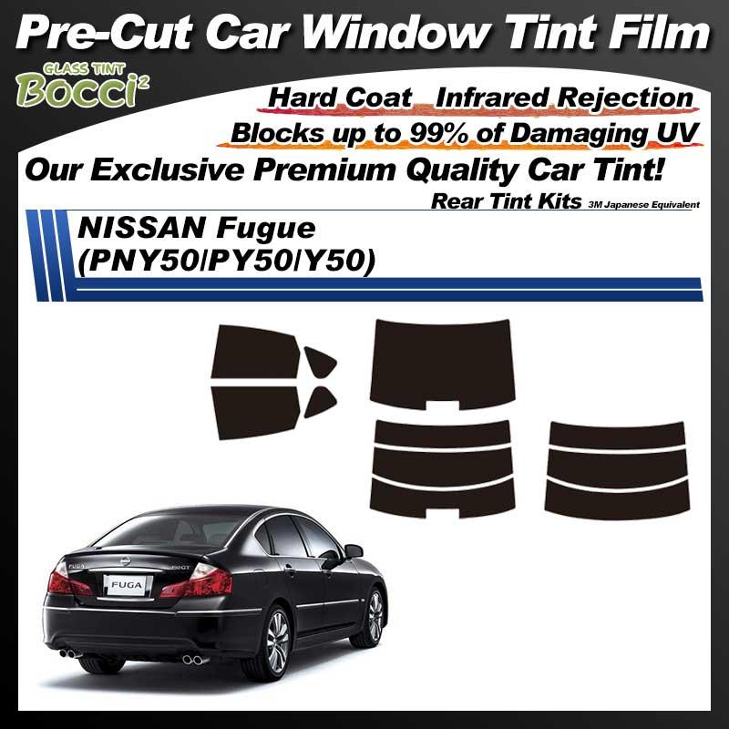 NISSAN Fugue (PNY50/PY50/Y50) Pre-Cut Car Tint Film UV IR 3M Japanese Equivalent
