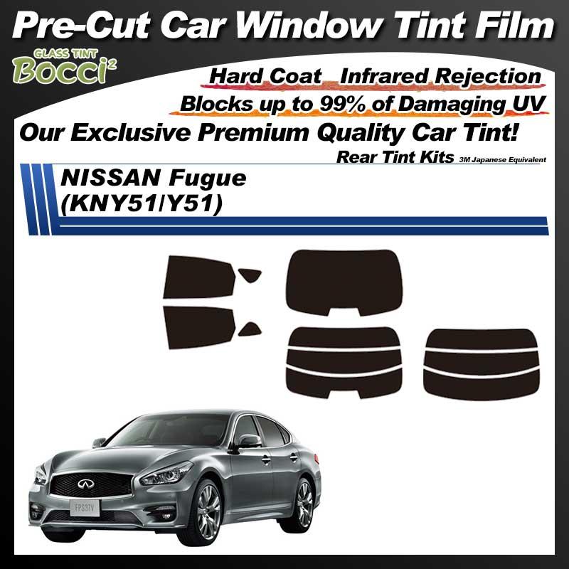 NISSAN Fugue (KNY51/Y51) Pre-Cut Car Tint Film UV IR 3M Japanese Equivalent